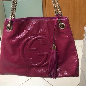 Authentic Medium Soho Gucci Shoulder Bag